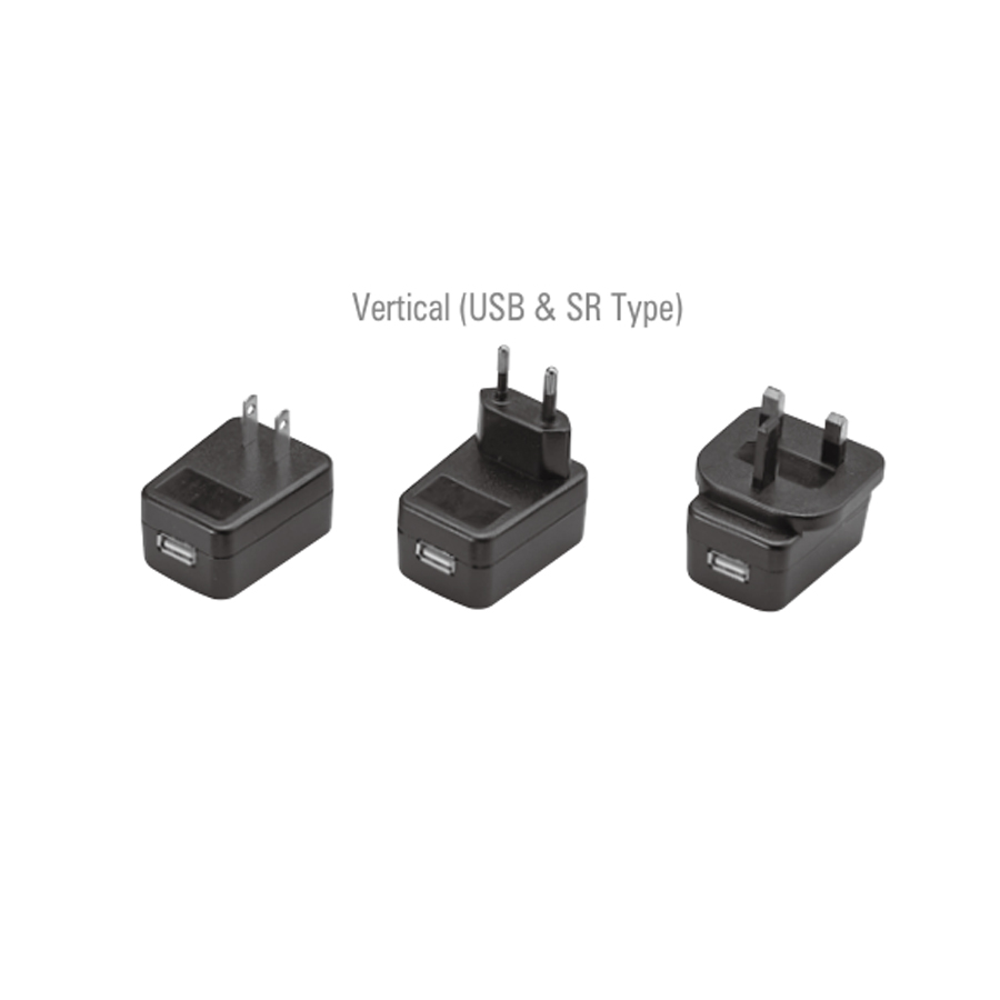 Wall Mount AC Adapters 6W 9V 0.66A USA Medical Adaptor