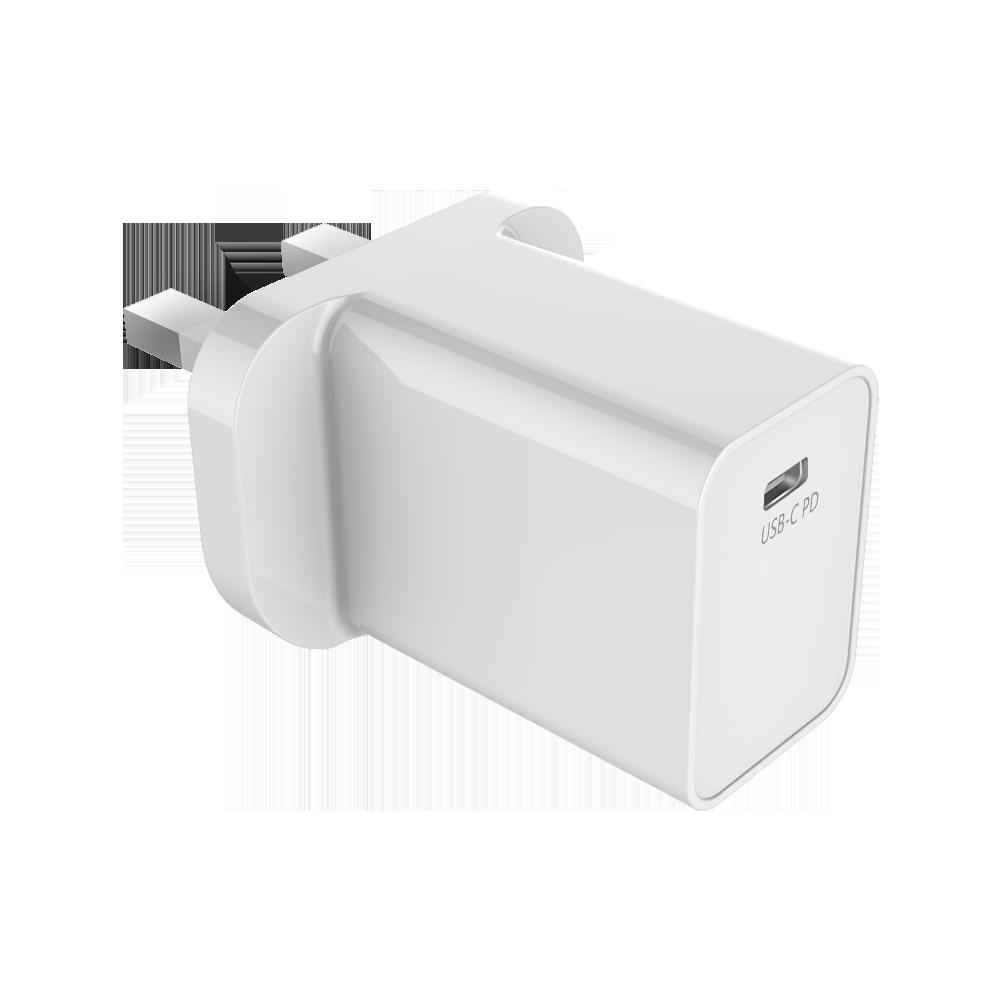 18W 1USB UK-plug PD Charger