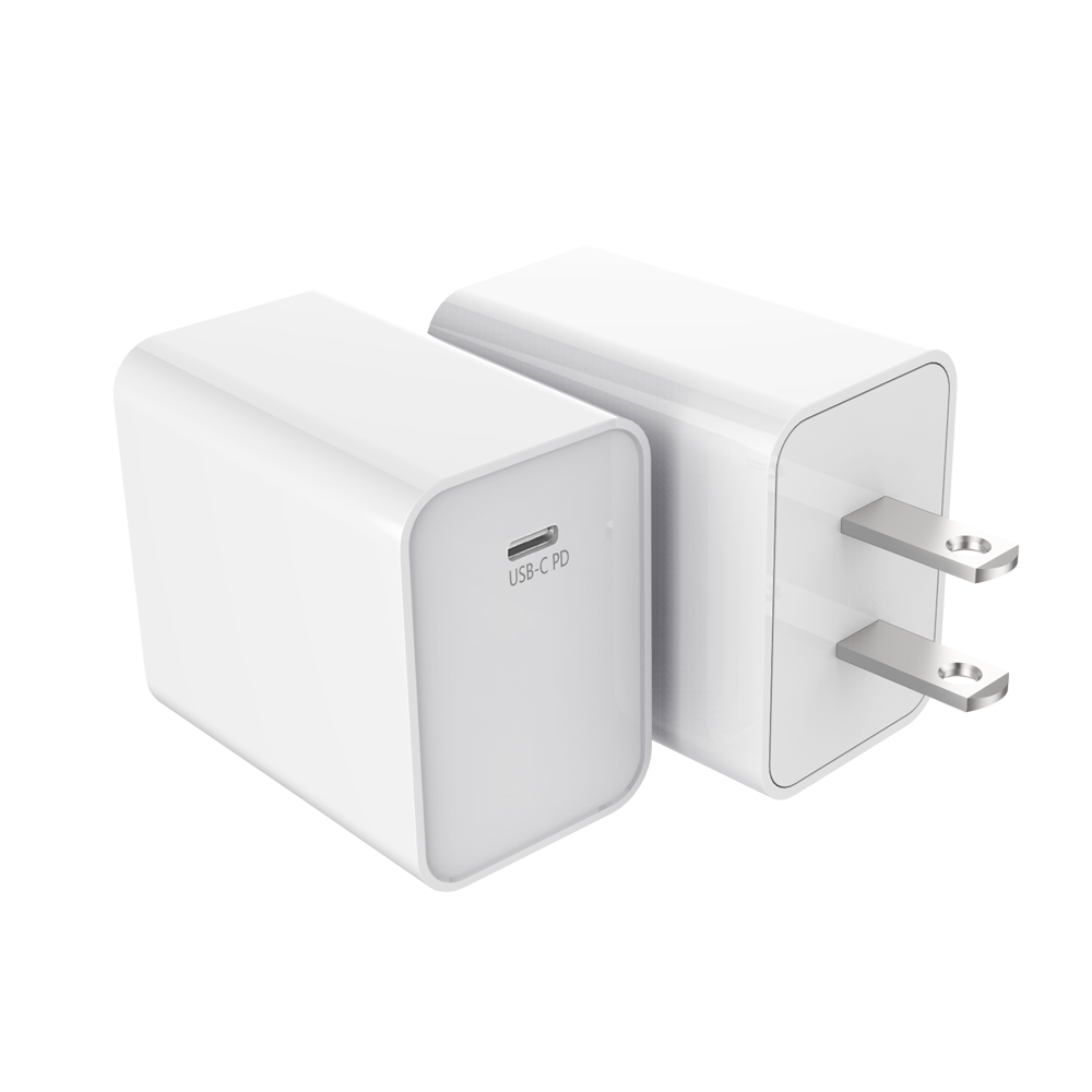 18W USB US-plug PD Charger